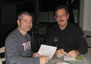 20151104 Unterzeichnung des Mietvertrags TuS1860NK - BC21NK