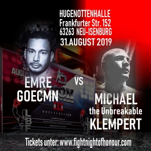 Emre Goecmen vs Michael Klempert
